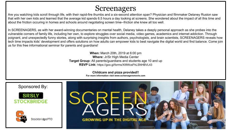 Screenagers @ Stockbridge Jr/Sr High - Media Center