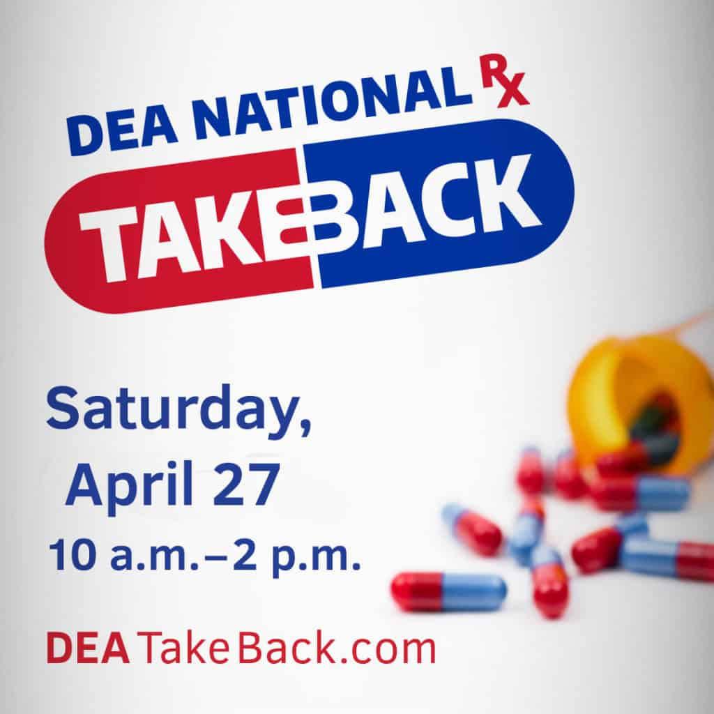National Drug Take Back Day @ Village of Stockbridge Police Department