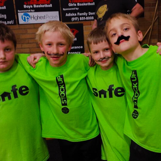 Basketball Tournament 2014 Green Mustachios